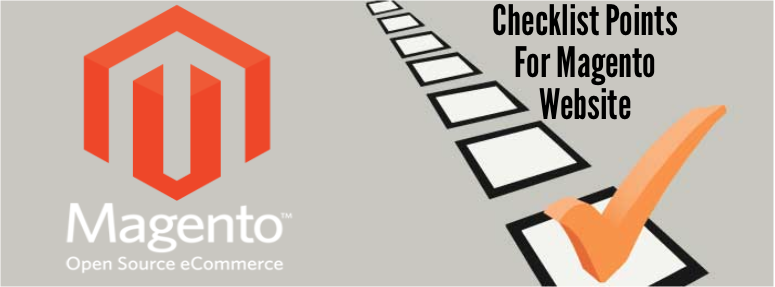 Checklist Points For Magento Website