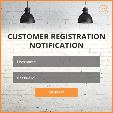 Magento Customer Registration Email Notifications Extension
