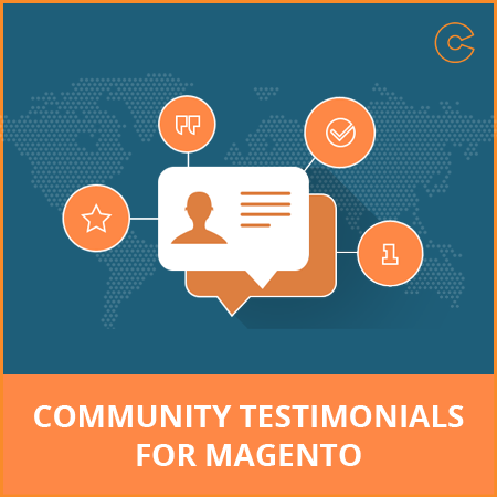 Community Testimonial Extension for Magento