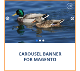 Carousel Banner Slideshow Extension for Magento