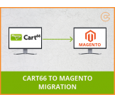 Cart 66 to Magento migration