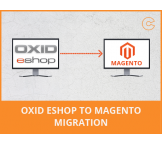 OXID eShop to Magento migration, conversion & import