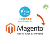 AceShop to Magento migration, conversion & import