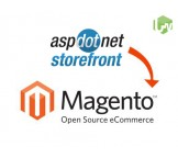AspDotNetSF to Magento migration, conversion & import