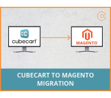 CubeCart to Magento migration, conversion & import