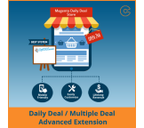 Daily / Multiple Deals Advanced Extension for Magento®