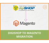Digishop to Magento migration, conversion & import