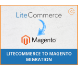 LiteCommerce to Magento migration, conversion & import