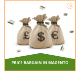 Price Bargain Extension for Magento Stores