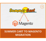 Summer Cart to Magento migration, conversion & import