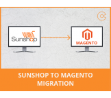 SunShop to Magento migration, conversion & import