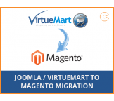 Joomla / VirtueMart to Magento migration, conversion & import