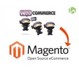 WooCommerce to Magento migration, conversion & import